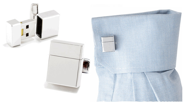 usb flash drive cuff links
