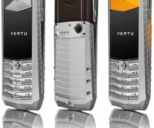 Vertu Ascent Mobile Phone Should Come in Red and Gold