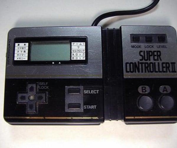 weird famicom controllers 4