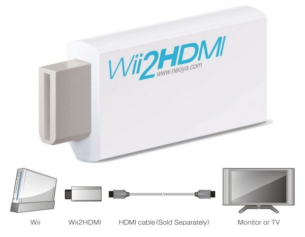 wii 2 hdmi adapter
