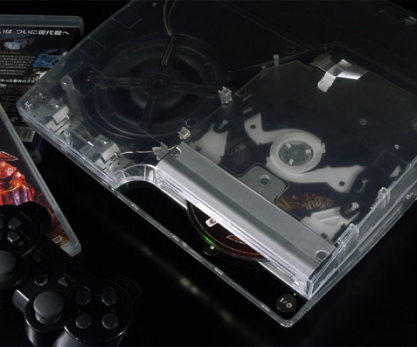 Xcm Cyberbot PS3 Slim Case: Your Console Can See Clearly Now