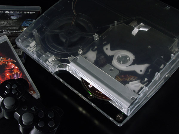 xcm cyberbot clear ps3 slim case 1