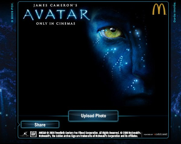 avatar avatarize yourself website fun digital imaging james cameron