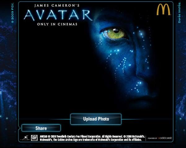 avatar avatarize yourself website fun digital imaging james cameron