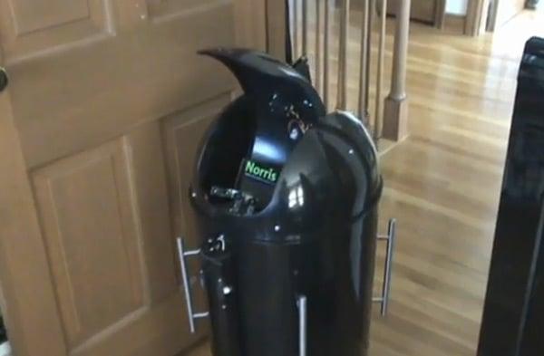 butler bot robot fridge steve norris labs robotics fun beverage delivery system