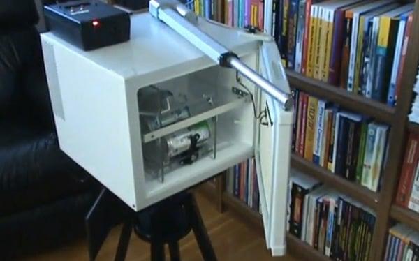 butler bot robot fridge beverage delivery system steve norris labs