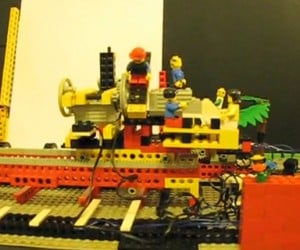 Working LEGO Printer Uses Felt-Tip Pens: Say What?
