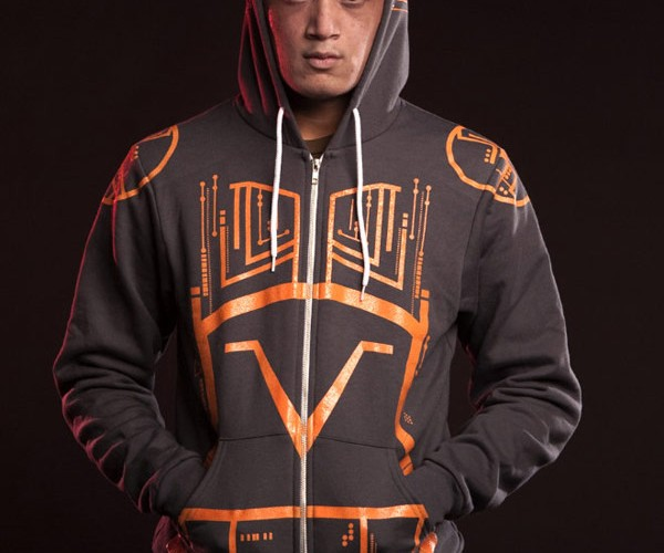 Glow-in-the-Dark TRON Hoody: Evil Sark Keeps You Warm
