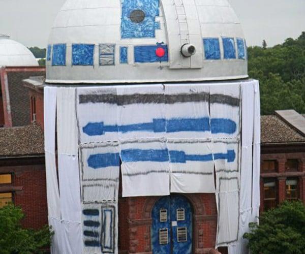R2-D2 Observatory Conversion: Star Wars Stargazing