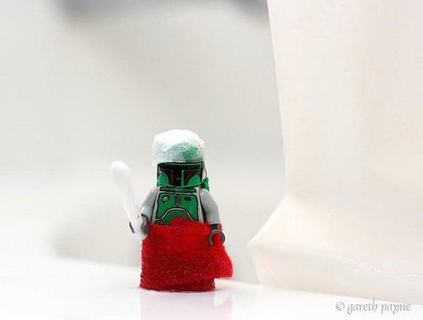 stormtrooper stormwalking star wars toys photos gareth payne