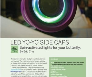 Make Your Own Spin-Activated LED Yo-Yo