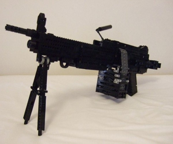 LEGO Weapons Collection: and Yes, You Can Actually Shoot With Them