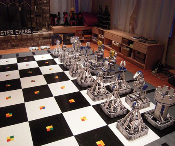 100,000 LEGO Robotic Monster Chess: Can Chess Get Any More Complicated?