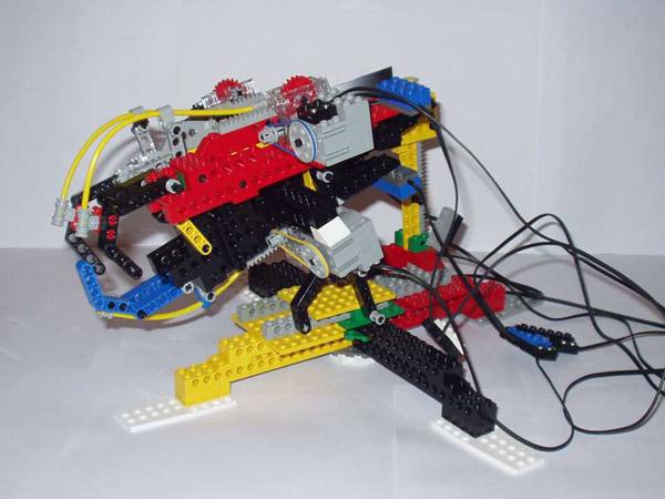 lego robot hand exoskeleton