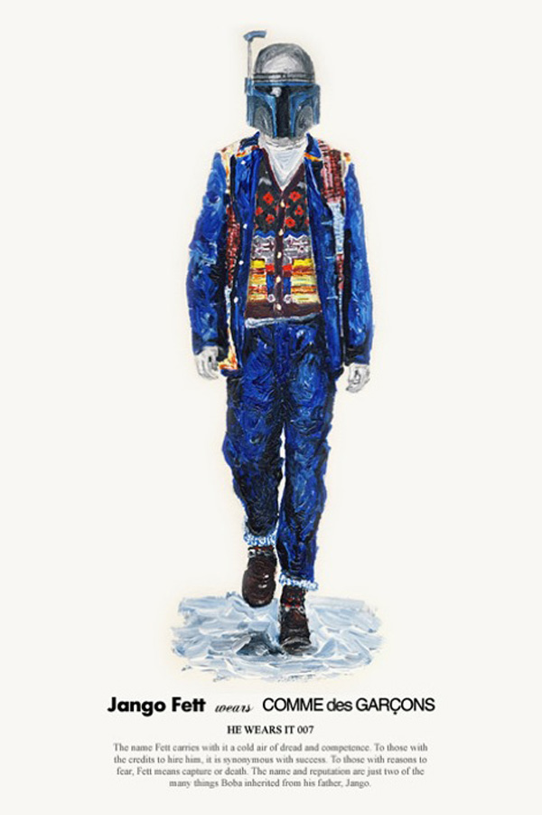 star wars john woo fashion fun