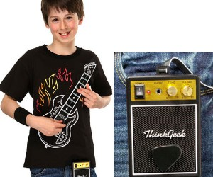 Fully Playable Electric Guitar T-Shirt: This One Goes to 11