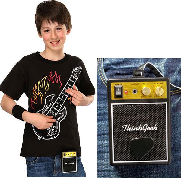 thinkgeek guitar geek wear t-shirt