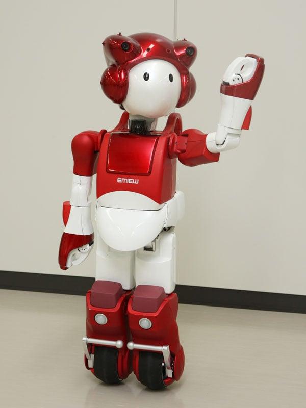 hitachi emiew2 robot walle humanoid