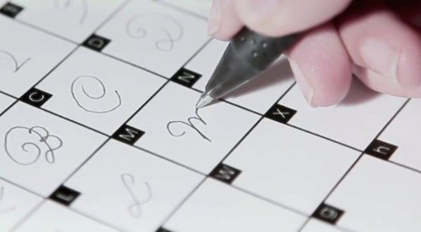 pilot writing handwriting custom font digital