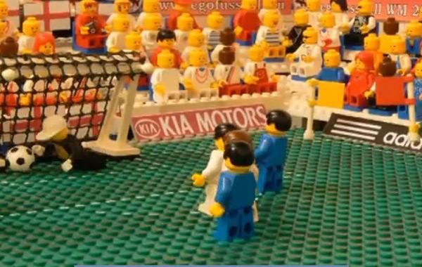 usa england world cup reenactment lego