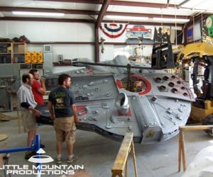 Millennium Falcon Backyard Fort: Why Didn'T I have One When I was a Kid?