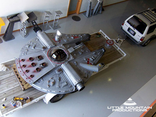 millennium falcon fort star wars