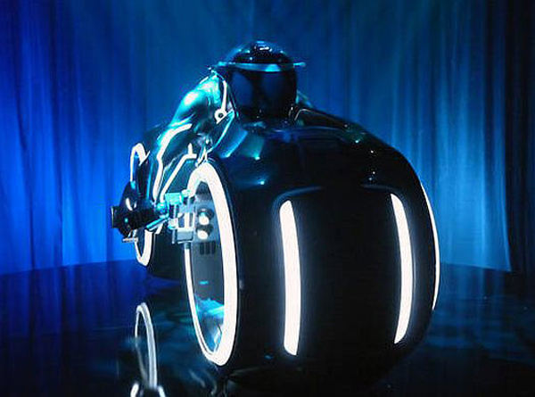 tron lightcycle parker brothers replica
