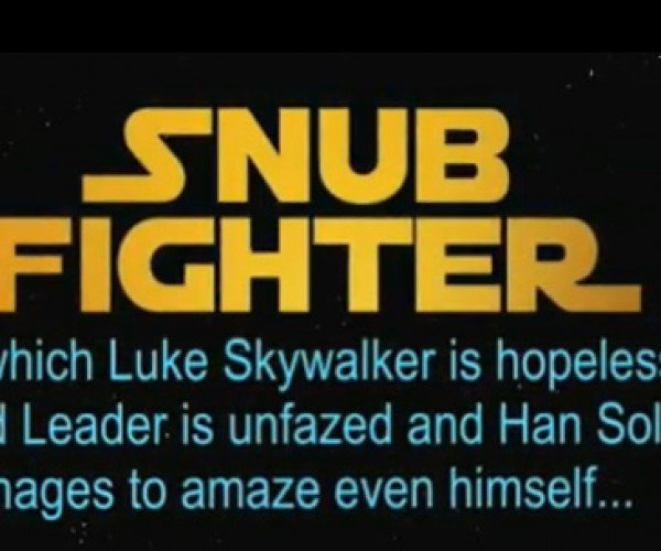 Snub Fighter: was Luke Skywalker Really an Idiot?