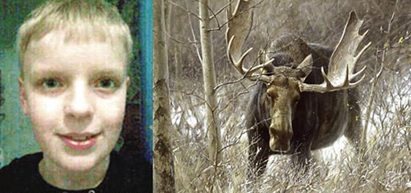 Hans Olsen and moose