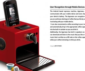 Espresso Machine Gets Android Power, World Asks Why