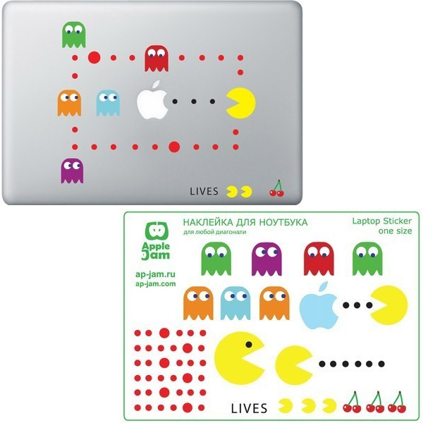 apple_pac_man_decals
