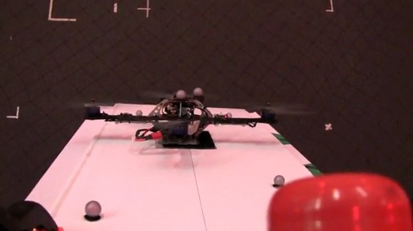 autonomous quadrotor helicopter