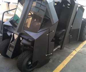 Batman Tumbler Golf Cart Would Definitely Improve My Golf Game