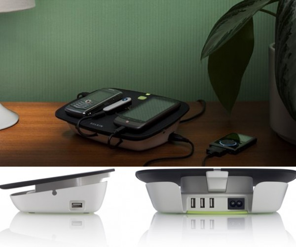 Belkin Conserve Valet USB Charging Station: Plug It and Forget It
