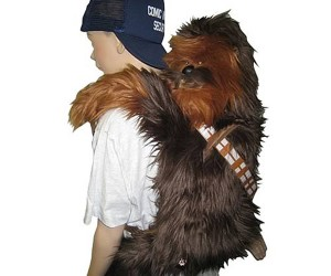 Chewbacca Back Buddy: a Backpack, a Toy, and a Rug All in One