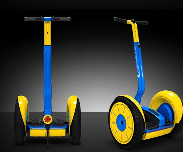 Colorware Now Painting Segways: as if They Needed to Stand Out More