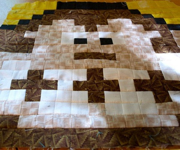 donkey_kong_crib_quilt_by_geek_unique