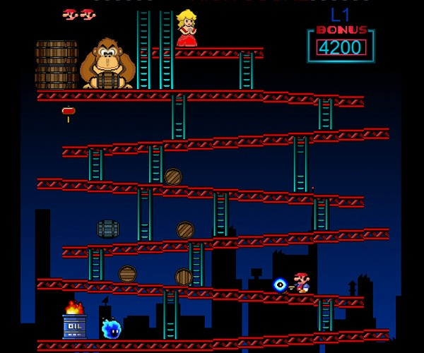 Donkey Kong Fan Remake Smashes Onto the Web
