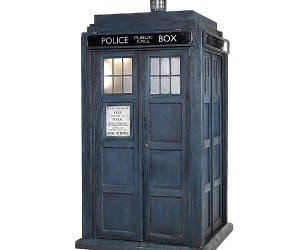 Tardis Goes Up for Auction, Probably Because It Doesn'T Work Anymore
