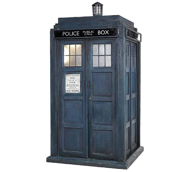 Tardis Goes Up For Auction Probably Because It Doesn T