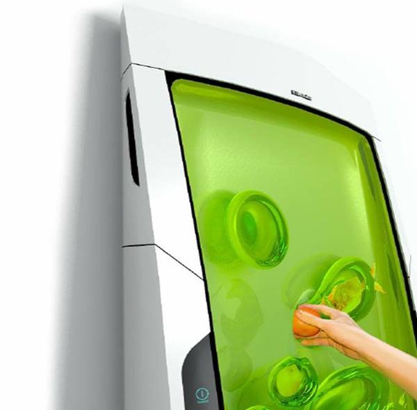 electrolux bio robot refrigerator