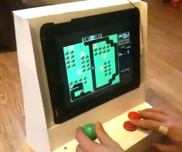 IPad Arcade Cabinet: From Prank to Product