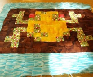 frogger crib quilt by geek unique 300x250