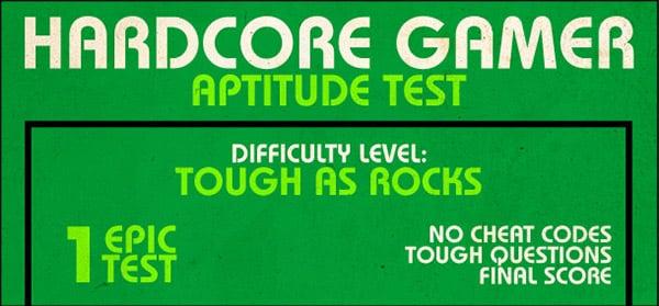 gamespy hardcore gamer aptitude test 1