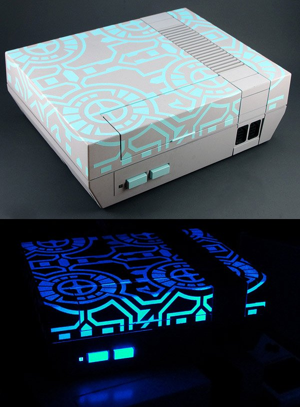 glowing nes by thretris