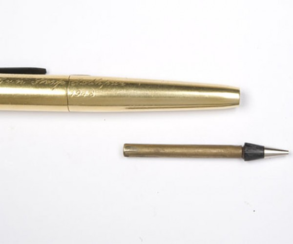 gold plated pencil pistol 4