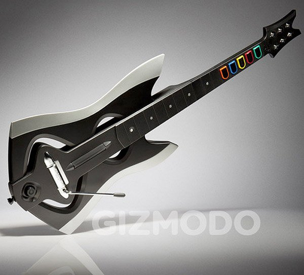 guitar hero warriors guitar 1
