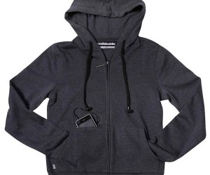 Hoodiebuddie is a Hoodie With Headphones for Strings