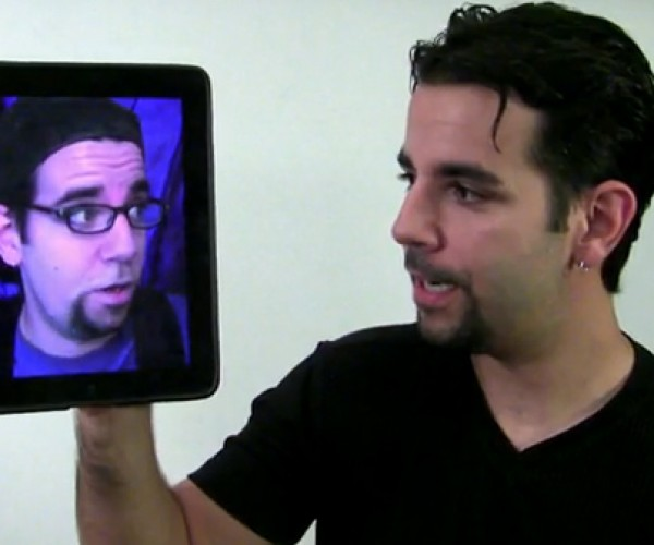 The iPad Comic has No Room for Adlibs