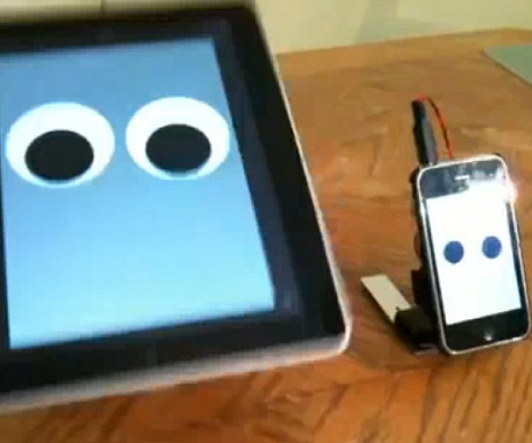 Walking iPad and iPhone Robots Are Completely Ridiculous, but We Love Them Anyhow
